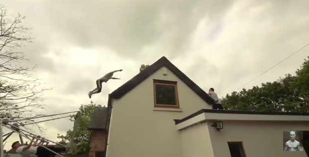 How Would You Jump Over Your House?